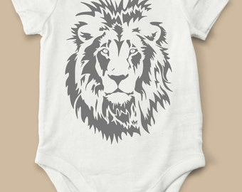 Lion, Onesie,  bodysuit, animal, children clothing, baby, tops,shirt