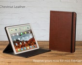 Oxford Leather iPad Pro Case - Chestnut