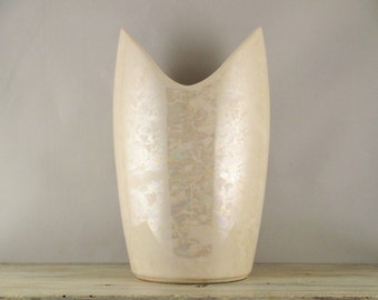 McCoy Iridescent Pearl Tall Art Vase/Cascade Collection