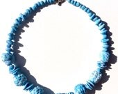 How to Make a Faux Faience Necklace in Papier-Mache.