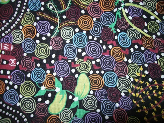 home decor fabric australia per yard ethnic designer fabric 36x45 inches corroboree 10975