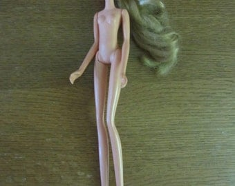 Hasbro 10 inch Leggy 1972 blonde doll only - may be Jill - hard-to-find