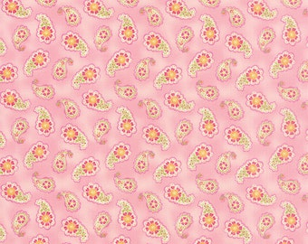 Colette - Paisley in Rose by Chez Moi for Moda Fabrics