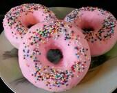 Strawberry Kiwi Doughnut Bubbly Bath Bomb
