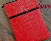 CLEARANCE - personalized SLEEVE cover for ipad mini / kindle / nook / samsung - red gator