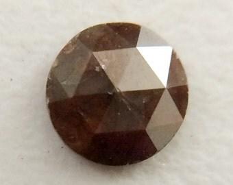 Brown Rose Cut Diamond, Brown Natural Rough Diamond, Brown Raw Diamond,  5mm, 1 CTW, 1 Pc - DS144
