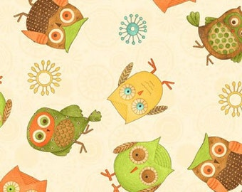 Owl on Cream by Wilmington