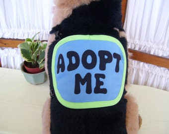 Extra Small Dog Adopt Me Vest
