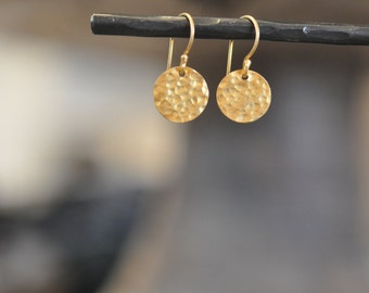 Medaillon Earrings Gold