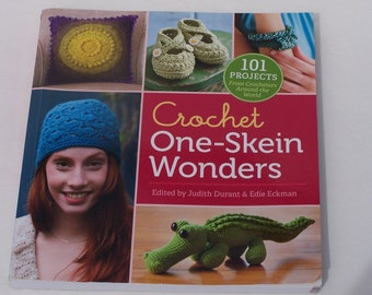Crochet One Skein Wonders softcover book in excellent condition
