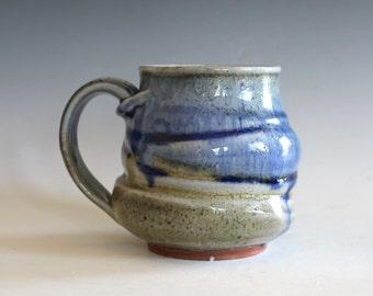 Coffee Mug, 10 oz, handmade ceramic cup, ceramic stoneware mug, coffee cup