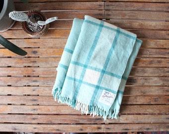 vintage camp blanket