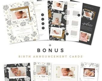 Cards Catalog + Bonus Birth Announcements   DOWNLOAD
