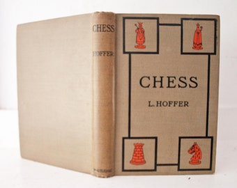 Vintage Chess Book / L. Hoffer / 14th  Edition