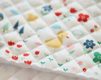 Quilted Cute Cotton by the yard (width 44 inches) 79773