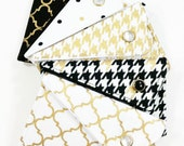 Business Card Holder - You Choose Metallic Gold White Black (LIMITED EDITION)