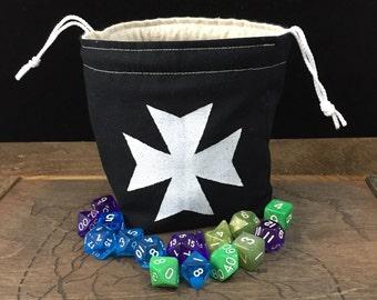 Dark Templar Dice Bag