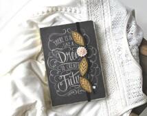 FALL SALE Felt Bookmark - Hand Embroidered Bookmark