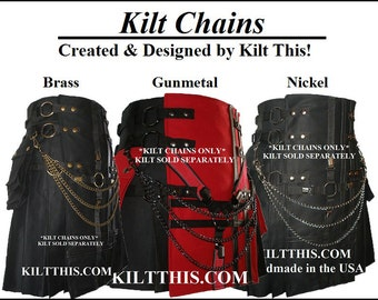 Utility Kilt Chains by Kilt This for Utility kilts of all Brands