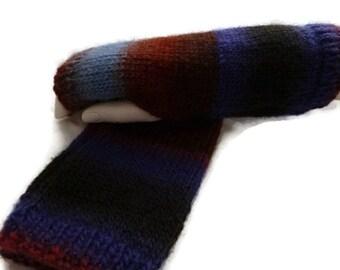 Knit Arm warmers, Womens Gloves,  Fingerless Gloves, Wool Wristwarmers, Wool Wristlets