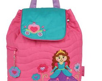 Personalized Stephen Joseph Girls Backpack-PRINCESS