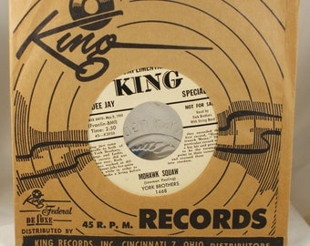 York Brothers King Records Complimentary DJ COPY 45 Record These haunting years