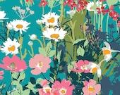 Mother's Garden Rich   LAH-26800 - LAVISH -  Katarina Roccella for Art Gallery Fabrics - By the Yard