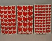 Vinyl Heart Decals, Heart Decals, Vinyl Decals, Valentine Decals, Hearts, Decals, Valentine, Valentine's Day, Love, Wedding