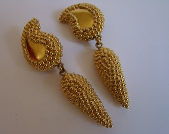 Ted Lapidus earrings