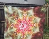 Mandala - Ice Dyed Flour Sack Towel