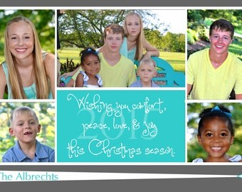 CH-  27 Photo Christmas Card