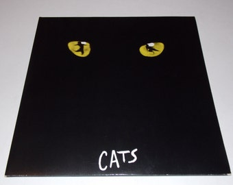 1981 - Cats - Andrew Lloyd Webber - Double LP Vinyl Record Album - Broadway / Musical
