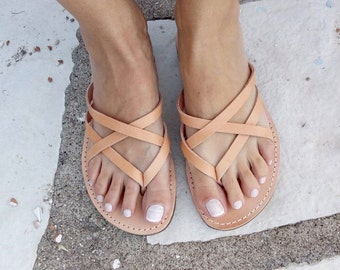 SALES Womens leather sandals, strap sandal , 100% genuine leather