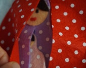 Babushka / matrushka- Quiet Book Page / Quiet Activity Book / Birthday Gift For Toddler / Learning Book / Childrens Book /Felt Book