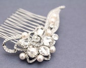 Wedding headpiece,Pearl bridal hair comb,Pearl wedding hair accessory,bridal hair jewelry,wedding hair piece,bridal hair accessory,wedding