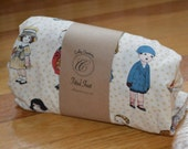 Fitted Crib Sheet - Paper Dolls - SALE