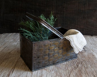 Metal Bread or Flower Basket
