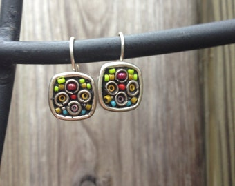 Small Mosaic Earrings