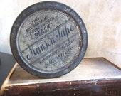 Vintage Manson tape circular tin 1920s friction tape / decor decoration / organization supply storage kitchen