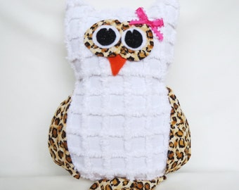 Owl Softie, Stuffed Owl, Stuffed Animal, Stuffed Toy, Animal Toy, Plush Animal