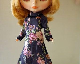 Long Dress for Blythe, Licca, 1/6 22cm doll