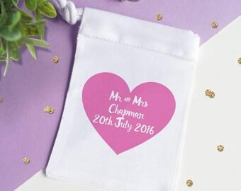 Wedding Ring Bag Personalised