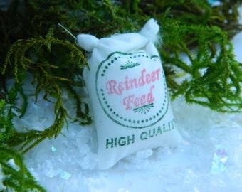 Christmas Miniature Fairy Garden Christmas Accessories Miniature Reindeer Food Terrarium accessories