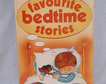 Children's Bedtime Stories Book, 1983, Treasure Press