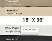 Shoe Fabric Supplies - ToughTek, Non Slip Fabric, Neoprene, Waterproof, Shoe Making Supplies, 18 X 36