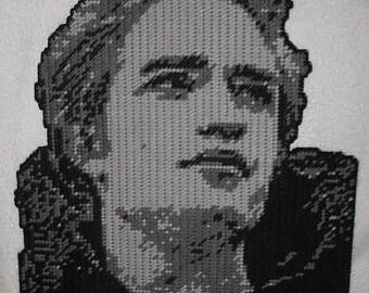Edward From Twlight Plastic Canvas Pattern