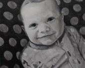 Custom Pencil Portrait for Mike 8x10
