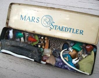 1950s German Mars Staedtler Pencil Box Curiosity Collection