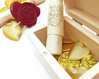 Gift for long distance girlfriend, Treasure box of Love