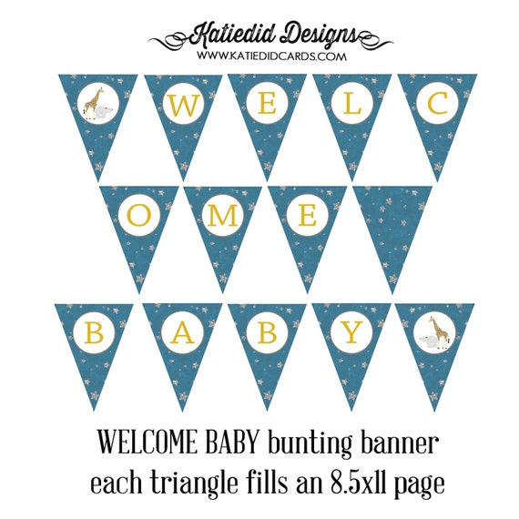 on the night you were born WELCOME BABY 1422 AS is matching bunting triangle banner
